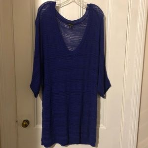 Cute blue/purple sweater